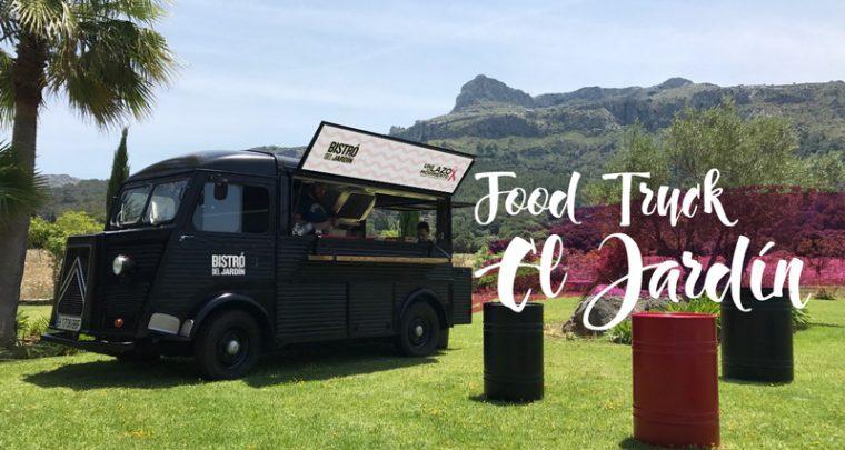 Food truck en el Jardín